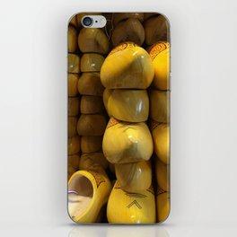 Clogs, Amsterdam  iPhone Skin