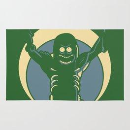 Pickle Rick Rug