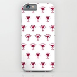 Holy Grail Wine Pattern iPhone Case
