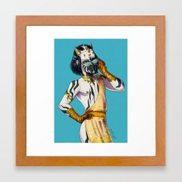 My Name is Mok Framed Art Print