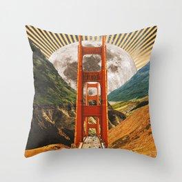 Bridge to Fantasy Land Throw Pillow
