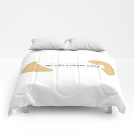 Not A Fortune Cookie Comforters