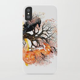Forever Autumn iPhone Case