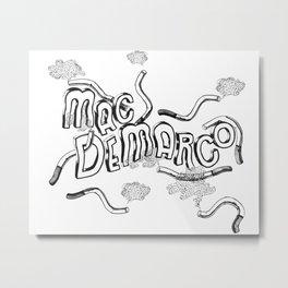 Mac Demarco – This Old Dog Gig Poster Metal Print
