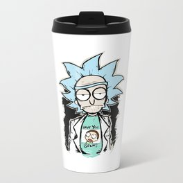 Rick 'n Morty Metal Travel Mug