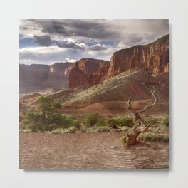 Mountains at Capitol Reef National Park - Utah Metal Print