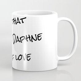 Niles &  Daphne Coffee Mug
