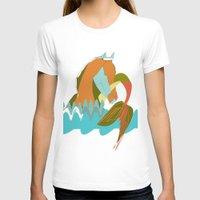 sea horse T-shirts featuring Sea Horse by Federica Fernanda