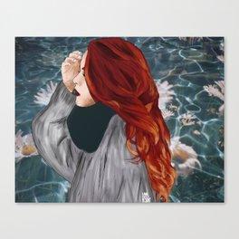 LUANNA FLOWERS Canvas Print