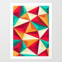 diamond Art Prints featuring Diamond by Azarias