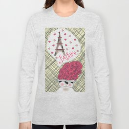 I Adore Paris Long Sleeve T-shirt