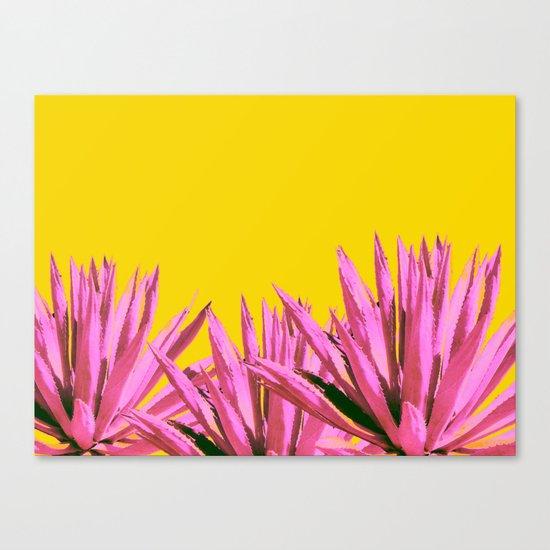 Pop art agave Canvas Print