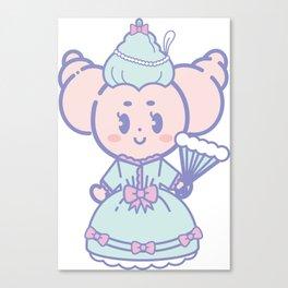 Crocro princess Canvas Print