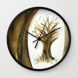 The Fortune Tree #1 Wall Clock