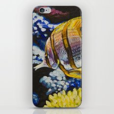 Copperband Butterflyfish iPhone & iPod Skin