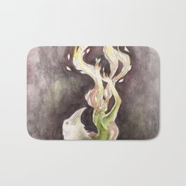 If you can't be my wife, you shall be my tree (Apollo & Daphne) Bath Mat