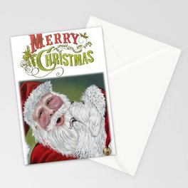 Christmas Kisses Stationery Cards