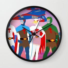 Gatchaman Group Wall Clock