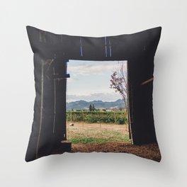 Barn Inside Out Throw Pillow