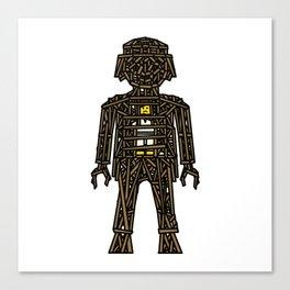 The Playmobil Wicker Man Canvas Print