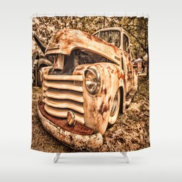 Old pickup ( Photo by Antal Ullmann ) Shower Curtain