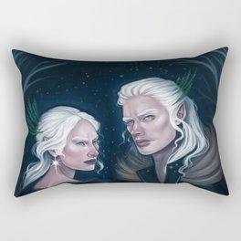 The Winter Court Rectangular Pillow