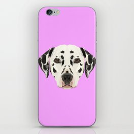 Dalmatian // Lilac iPhone Skin