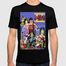 Double Dragon II Mens Fitted Tee Black SMALL