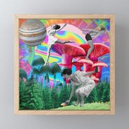 Shroomy Delight Framed Mini Art Print