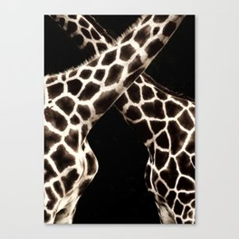Cross Patterns. Canvas Print