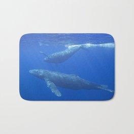 Humpback Whales Bath Mat
