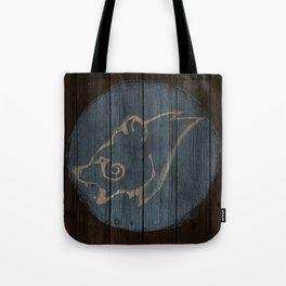 Bear Shield Tote Bag