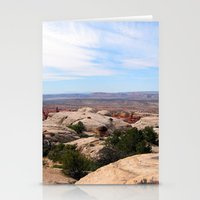 utah Stationery Cards featuring Utah by BACK to THE ROOTS