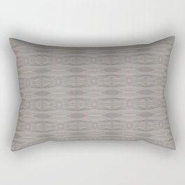 Elegant Gray Geometric Southwestern Pattern - Luxury - Comforter - Bedding - Throw Pillows - Rugs Rectangular Pillow