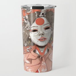 geisha bots Travel Mug