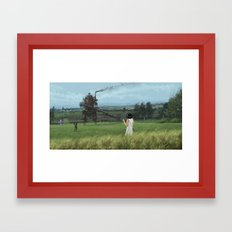 1920 - long time no see Framed Art Print