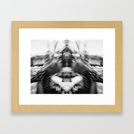 Girlfriend Blur Framed Art Print