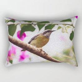 Bird - Photography Paper Effect 008 Rectangular Pillow