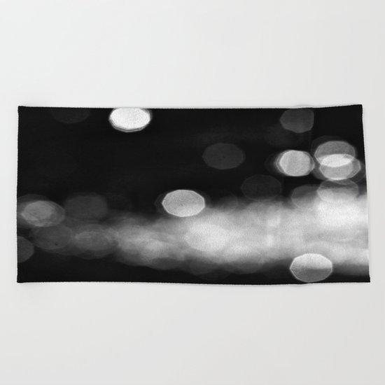 Into the Night Beach Towel