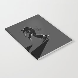 A battle against yourself Notebook