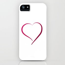 Heart in Style by LH iPhone Case