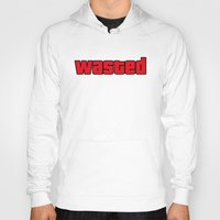 wasted rita Hoodies featuring Wasted by TxzDesign