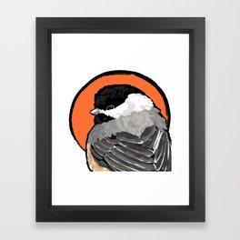 Bird no. 472: Lil Grump Framed Art Print