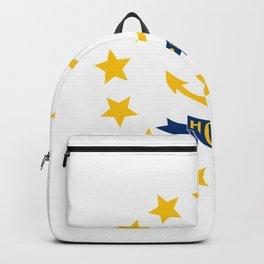 Rhode Island State Flag Backpack