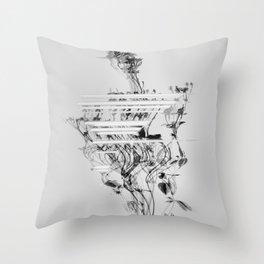 Dysphoria III Throw Pillow