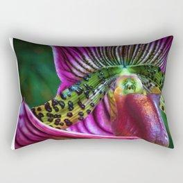 Parrot Petals Rectangular Pillow