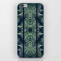 fern iPhone & iPod Skins featuring Fern by Good Sense