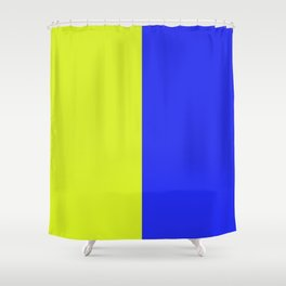 K is for KILO Shower Curtain