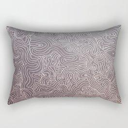 Melting eye Rectangular Pillow