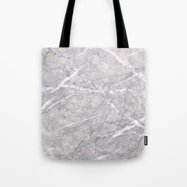 Through the Branches Grey Marble Tote Bag